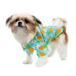 View Image 3 of Hawaiian Camp Shirt by Doggie Design - Pineapple Luau