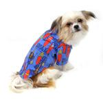 View Image 3 of Hawaiian Camp Shirt by Doggie Design - Ukuleles and Surfboards