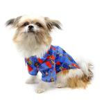 View Image 4 of Hawaiian Camp Shirt by Doggie Design - Ukuleles and Surfboards