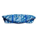 View Image 3 of Hawaiian Travel Dog Bed by Doggles - Blue