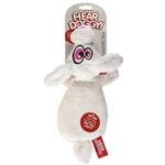 View Image 3 of Hear Doggy Flat Dog Toy - Rabbit