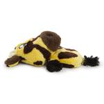 View Image 4 of HEAR DOGGY! Flatties with Ultrasonic Squeaker Dog Toy - Giraffe