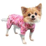 View Image 2 of Heart Dog Pajamas by Pooch Outfitters