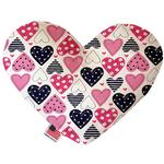 View Image 1 of Heart Dog Toy - Mixed Hearts