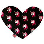 View Image 1 of Heart Dog Toy - Pretty Pink Unicorns