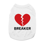 View Image 1 of Heartbreaker Dog Shirt - White