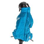 View Image 5 of Helios Thunder Full-Body Dog Coat - Blue Wave
