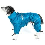 View Image 3 of Helios Thunder Full-Body Dog Coat - Blue Wave