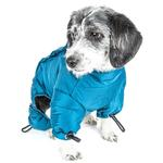 View Image 4 of Helios Thunder Full-Body Dog Coat - Blue Wave
