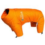 View Image 1 of Helios Thunder Full-Body Dog Coat - Sporty Orange