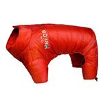 View Image 1 of Helios Thunder Full-Body Dog Coat - Grenadine Red