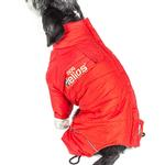 View Image 5 of Helios Thunder Full-Body Dog Coat - Grenadine Red