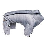 View Image 2 of Helios Thunder Full-Body Dog Coat - Grey