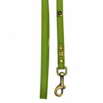 View Image 2 of Hematite Pebbles Dog Leash - Green