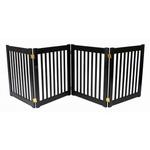 View Image 1 of Highlander 27 Free Standing Ez Dog Gate - Black