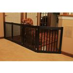 View Image 4 of Highlander 27 Free Standing Ez Dog Gate - Black