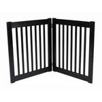 View Image 3 of Highlander 27 Free Standing Ez Dog Gate - Black
