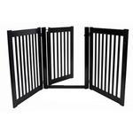 View Image 3 of Highlander Free Standing Walk-Through Dog Gate - Black