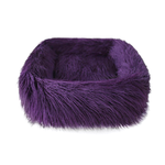 View Image 1 of Himalayan Yak Dog Bed by Hello Doggie - Royal