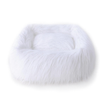 View Image 1 of Himalayan Yak Dog Bed by Hello Doggie - White