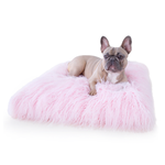 View Image 1 of Himalayan Yak Dog Mat by Hello Doggie - Ballerina Pink