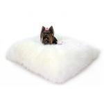 View Image 1 of Arctic Dog Bed Mat by Hello Doggie - Ivory
