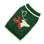 View Image 1 of Hand Knit Dog Sweater by Up Country - Reindeer