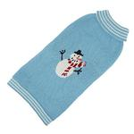 View Image 1 of Hand Knit Dog Sweater by Up Country - Snowman