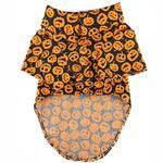 View Image 2 of Doggie Design Holiday Dog Camp Shirt - Halloween Jack-0-Lanterns