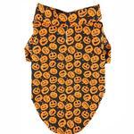 View Image 1 of Doggie Design Holiday Dog Camp Shirt - Halloween Jack-0-Lanterns