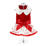 View Image 2 of Holiday Dog Harness Dress by Doggie Design - Candy Canes