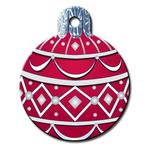 View Image 1 of Holiday Ornament Engravable Pet I.D. Tag