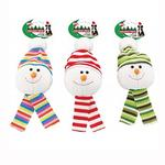 View Image 1 of Holiday Snowball Dog Toy with Scarf