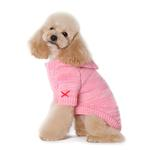 View Image 4 of Hoodie Sweater Dog Coat by Dogo - Pink