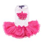 View Image 4 of Hot Pink Cupcake Dog Dress by Pawpatu