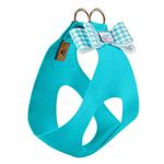 View Image 2 of Bimini Houndstooth Big Bow Step-In Dog Harness by Susan Lanci