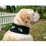 View Image 3 of HuggleHounds The Eyes Have It Scary Halloween Dog Scarf