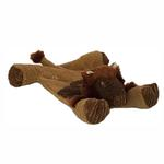 View Image 1 of HuggleHounds Flatties Dog Toy - Bison