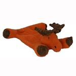 View Image 1 of HuggleHounds Flatties Dog Toy - Moose