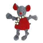 View Image 1 of HuggleHounds Holiday Knotties Dog Toy - Mouse