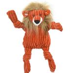View Image 1 of HuggleHounds Knotties Dog Toy - Lion