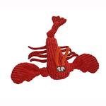 View Image 1 of HuggleHounds Knotties Dog Toy - Lobsta