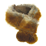 View Image 1 of HuggleHounds Luxx Faux Fur Dog Scarf