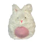 View Image 1 of HuggleHounds Woodland Squooshie Ball Dog Toy - Bunny