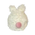 View Image 2 of HuggleHounds Woodland Squooshie Ball Dog Toy - Bunny