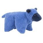 View Image 1 of HuggleHounds Barnyard Squooshie Plush Dog Toy - Lamb