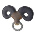 View Image 1 of HUNTER Canvas Ring Dog Toy - Sheep