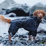 View Image 3 of Hurtta Downpour Overall Dog Suit - Raven