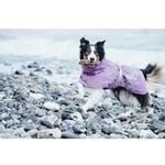 View Image 2 of Hurtta Drizzle Dog Raincoat - Currant