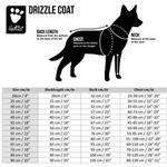 View Image 3 of Hurtta Drizzle Dog Raincoat - Raven